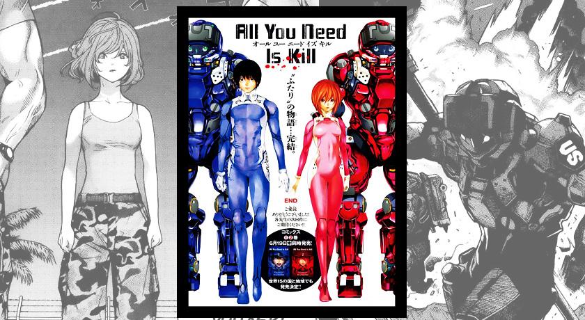 Recenzja mangi All You Need Is Kill
