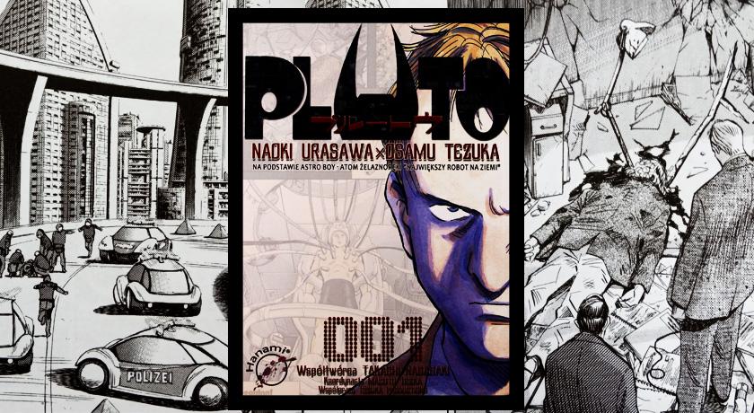 Recenzja mangi Pluto tom 1