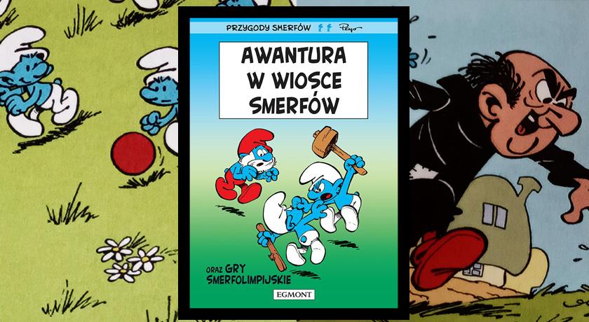 Recenzja komiksu Awantura w wiosce Smerfów
