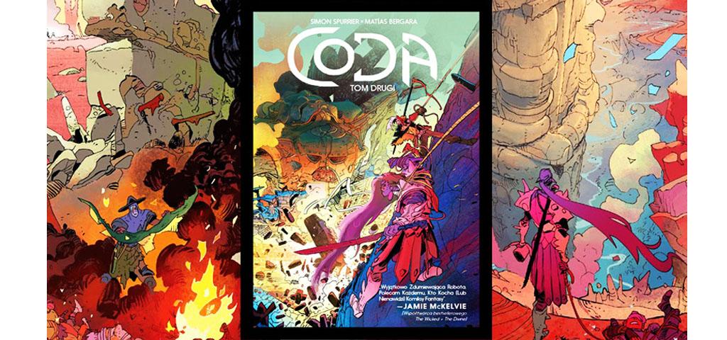 Recenzja komiksu Coda #2