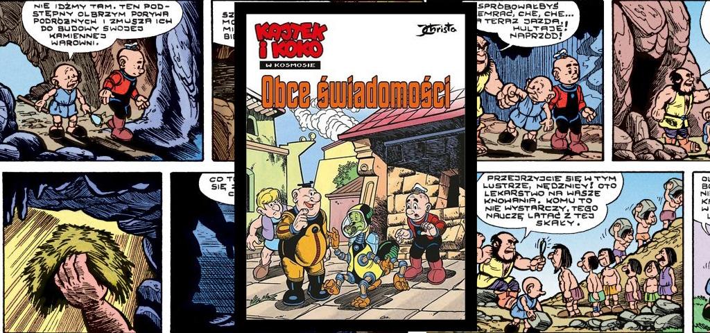 Recenzja komiksu Kajtek I Koko W Kosmosie - Obce Świadomości.
