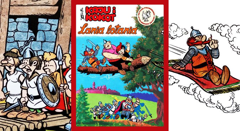 Kaju i Kokot: Lania lotania - recenzja komiksu