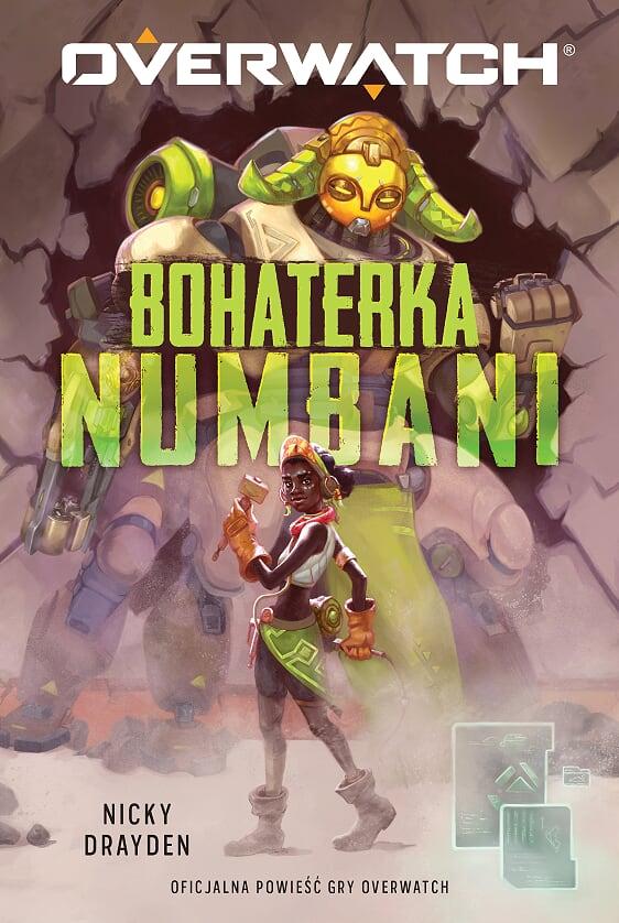 Okładka Overwatch: Bohaterka Numbani