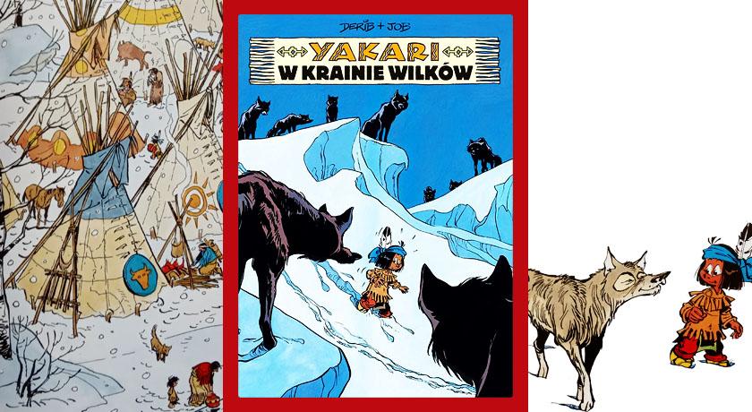 Yakari. W krainie wilków - recenzja komiksu