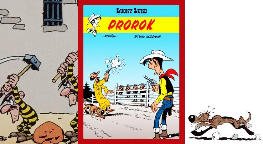 Lucky Luke: Prorok - recenzja komiksu