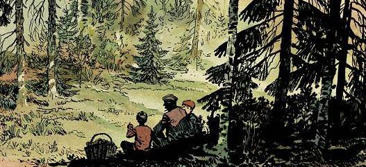 """Wilcze Tropy 3: """"Młot"""" - rysunek 1"""