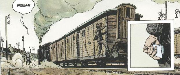 "Wilcze Tropy tom 2 – ""Orlik"", rysunek 1"