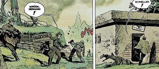"Wilcze Tropy tom 2 – ""Orlik"", rysunek 2"