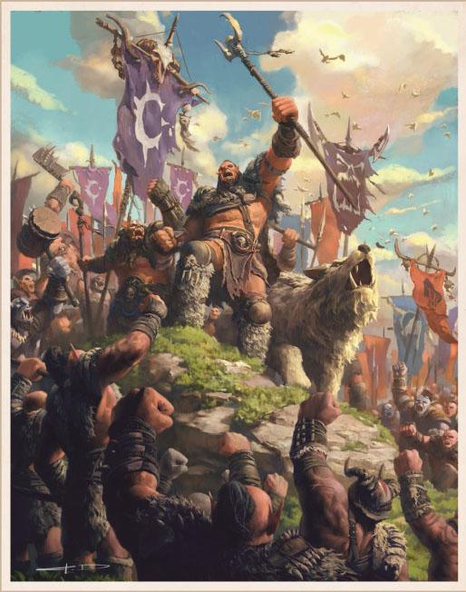 World of Warcraft Kronika Tom 2 przykładowe rysunki