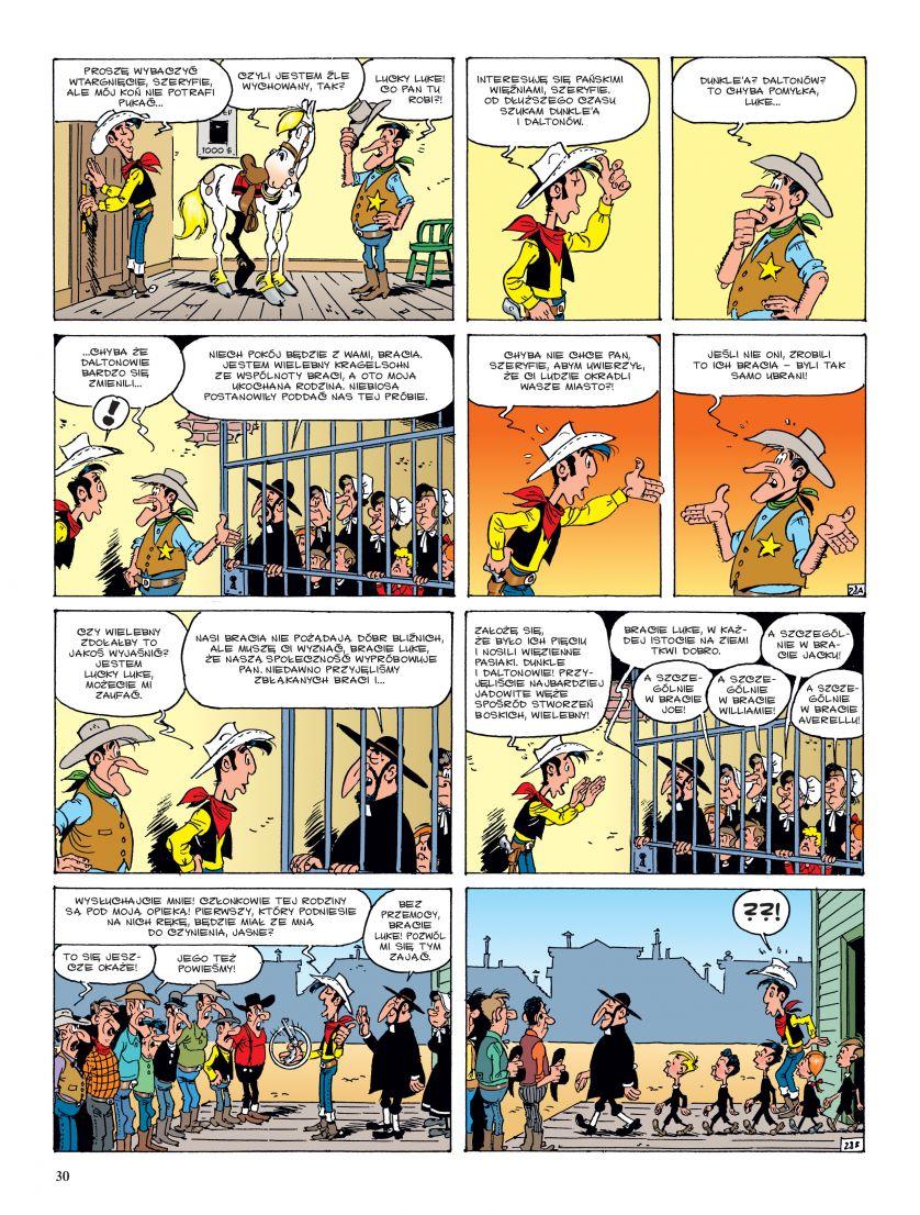 Lucky Luke: Prorok przykładowa plansza