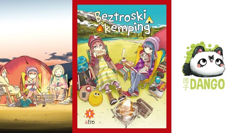 Beztroski Kemping tom #1-#2 - recenzja mangi