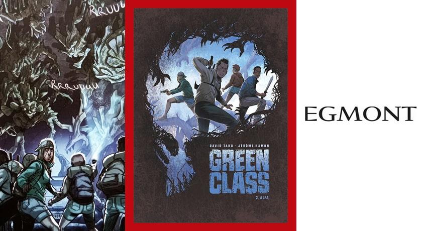 Green Class #2 Alfa - recenzja komiksu