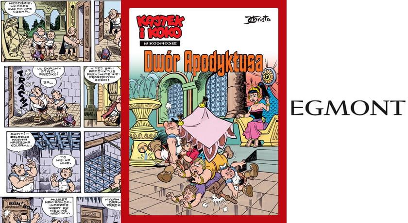 Kajtek i Koko w Kosmosie - Dwór Apodyktusa - recenzja komiksu