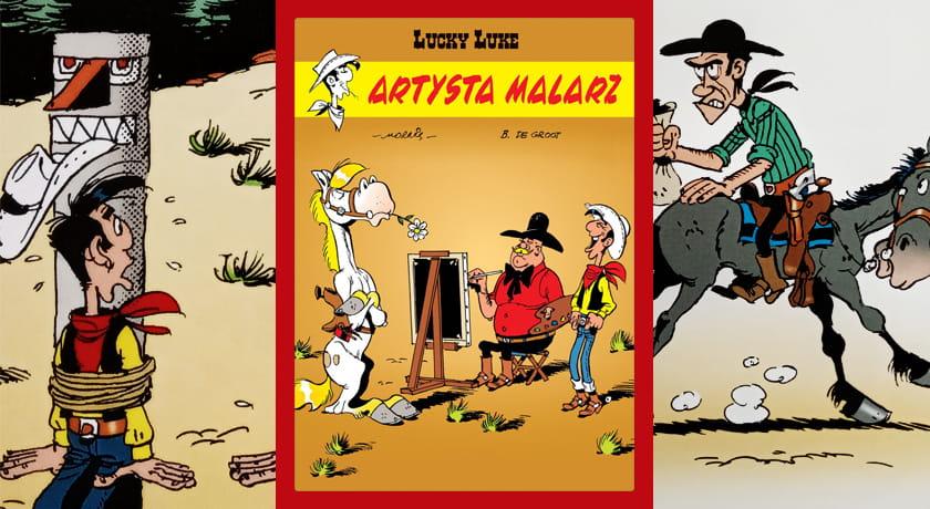 Lucky Luke: Artysta malarz - recenzja komiksu