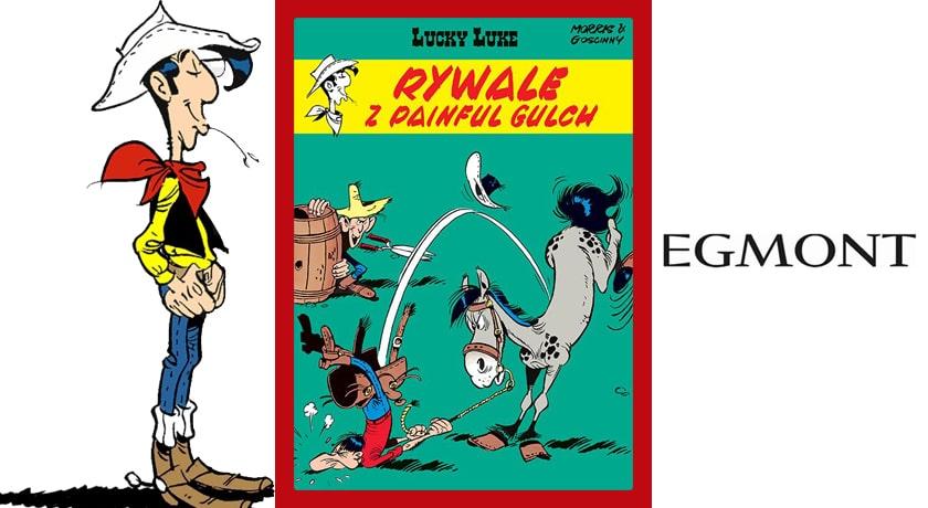Lucky Luke: Rywale z Painful Gulch - recenzja komiksu