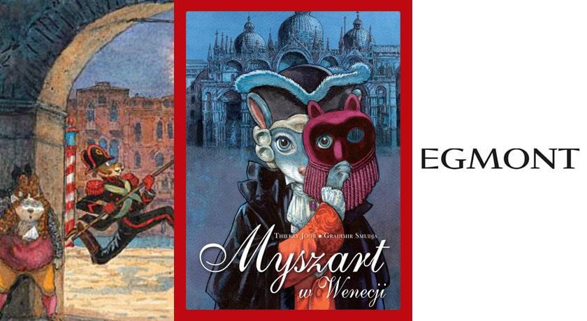 Myszart w Wenecji - recenzja komiksu