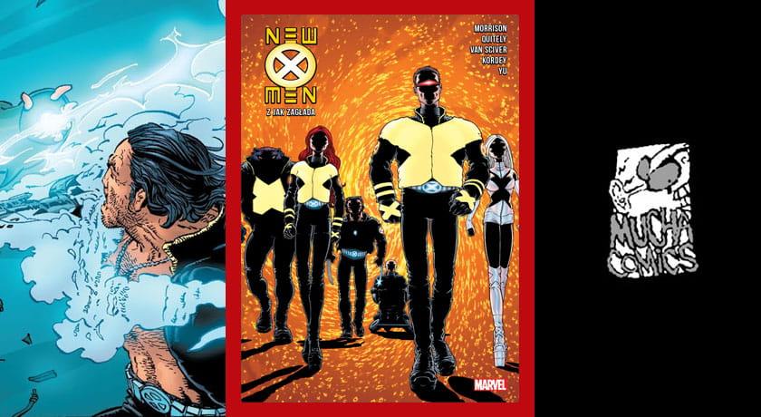 New X-Men - Z jak Zagłada #1  - recenzja komiksu