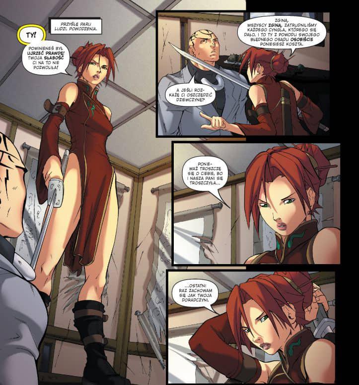 Przykładowy rysunek 1 - Deadpool Classic tom 9