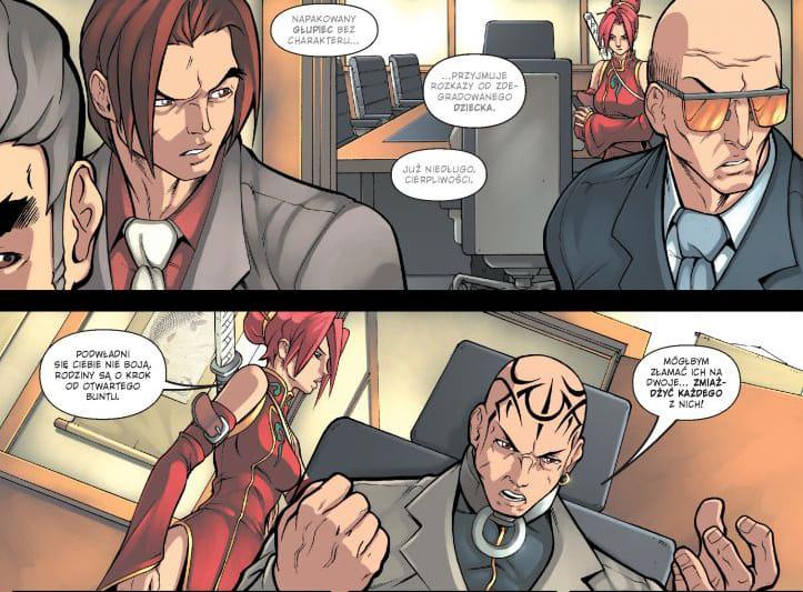 Przykładowy rysunek 2 -  Deadpool Classic tom 9