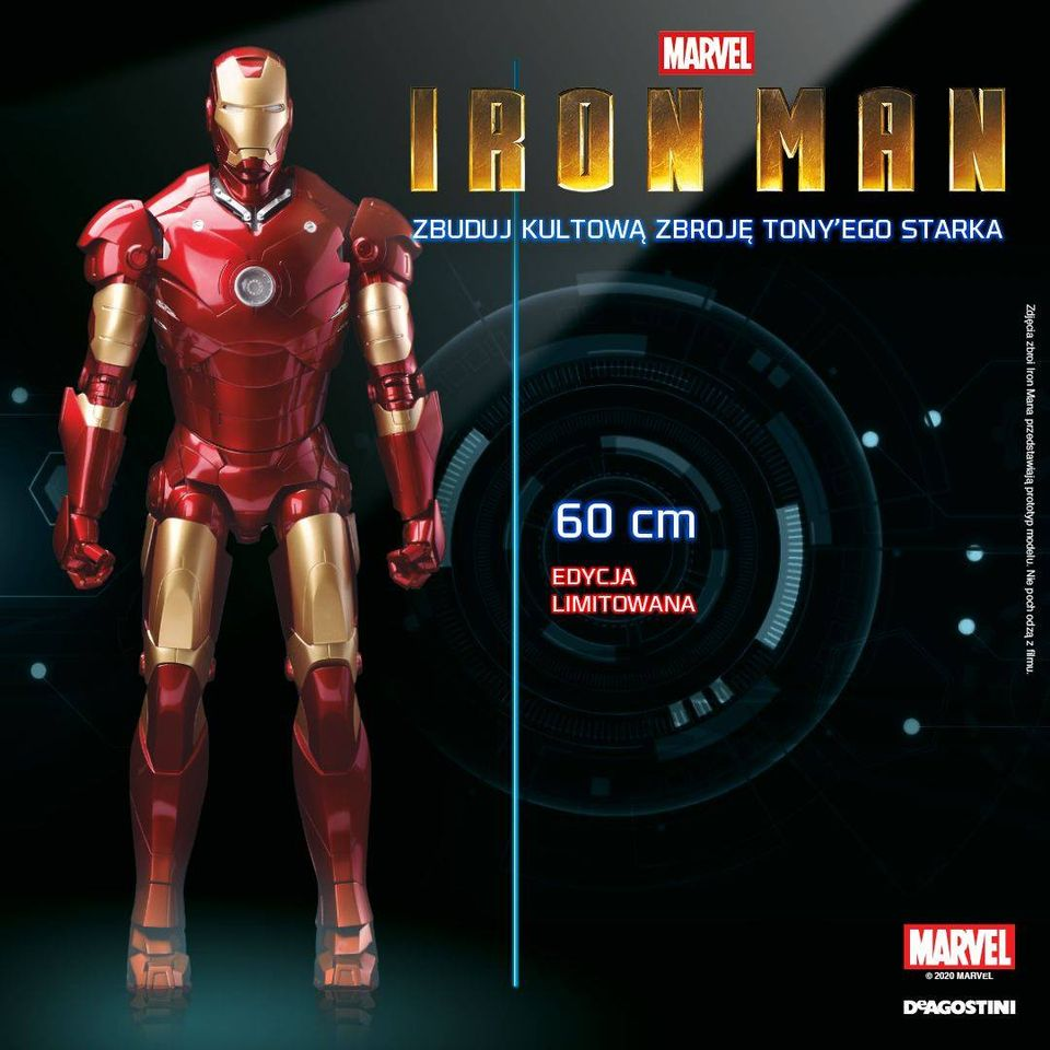 Iron Man Kolekcja DeAgostini