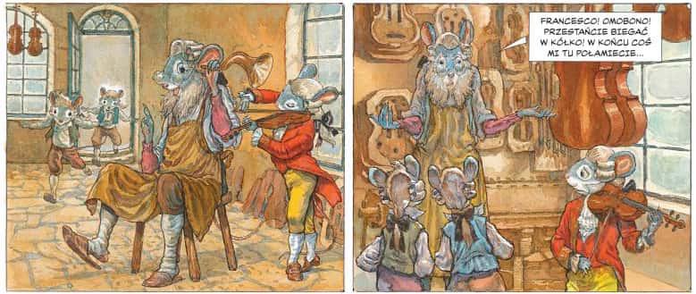 przykładowy rysunek 1 - Myszart w Wenecji