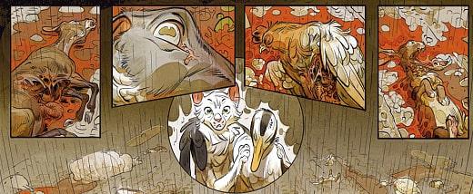 Przykładowy rysunek 2 - Zamek zwierzęcy #1: Miss Bengalore