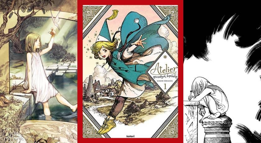 Atelier spiczastych kapeluszy #1 - recenzja mangi
