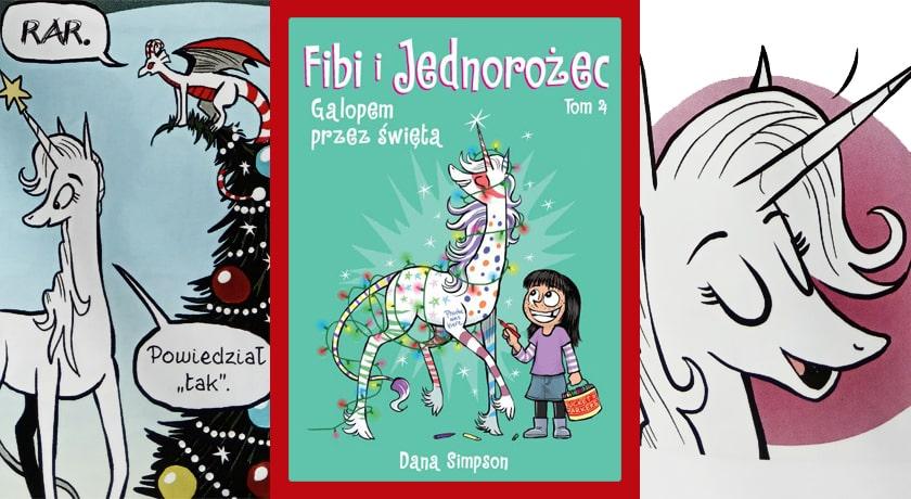 Fibi i jednorożec: Galopem przez święta - recenzja komiksu