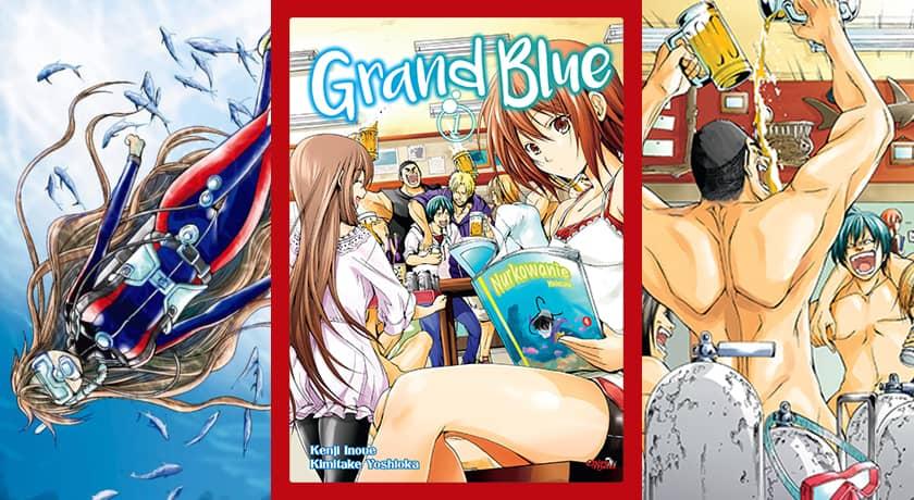 Grand Blue #1 - recenzja mangi