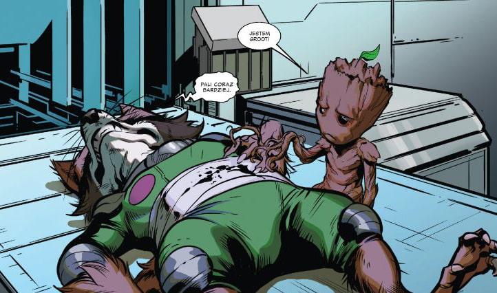 Rysunek 1 Strażnicy Galaktyki: Brak porozumienia