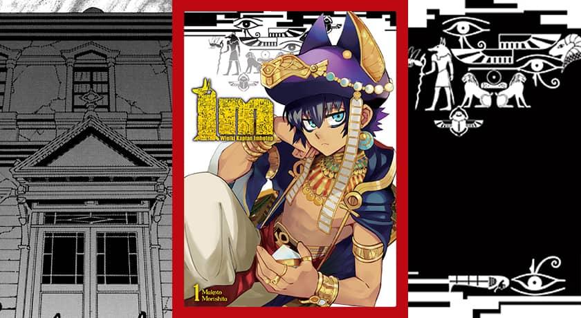 IM: Wielki Kapłan Imhotep #1 - recenzja mangi