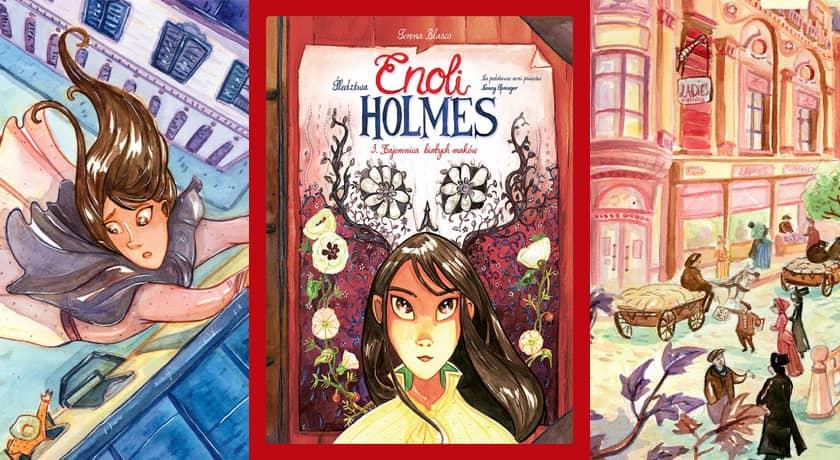 Enoli Holmes #3 - recenzja komiksu