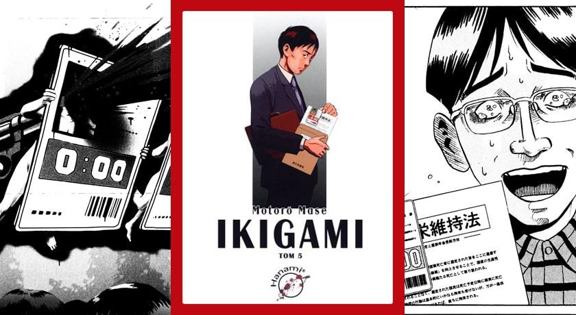 Ikigami #5 - recenzja mangi