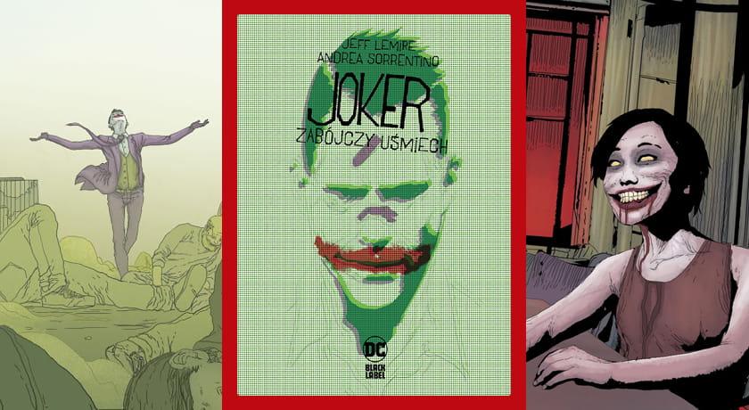 Joker Zabójczy uśmiech - recenzja komiksu