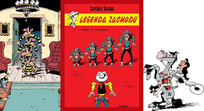 Lucky Luke Legenda Zachodu - recenzja komiksu