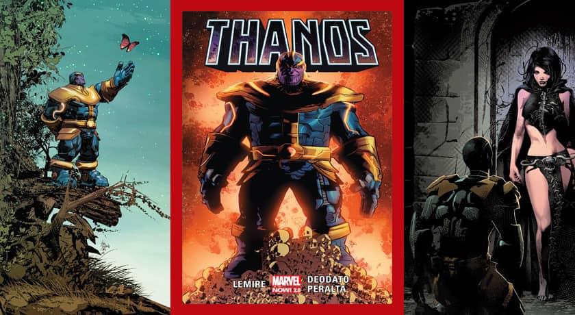 Thanos #1 - recenzja komiksu