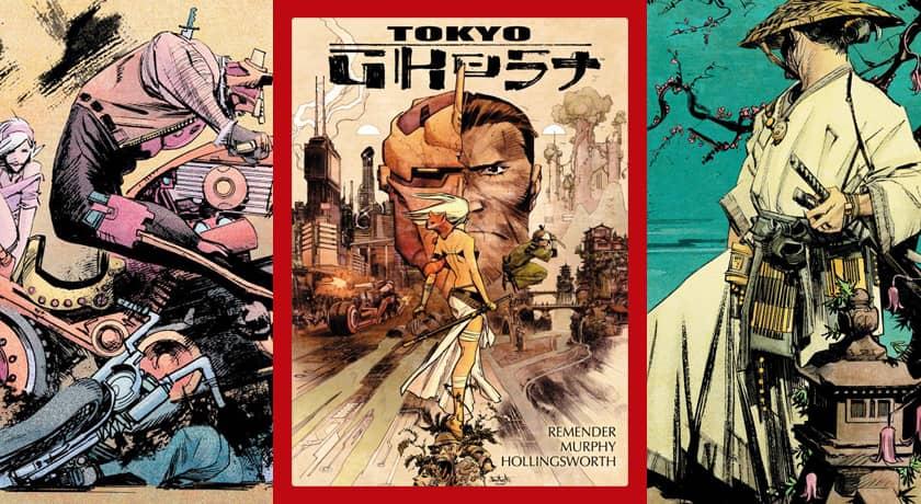 Tokyo Ghost - recenzja komiksu