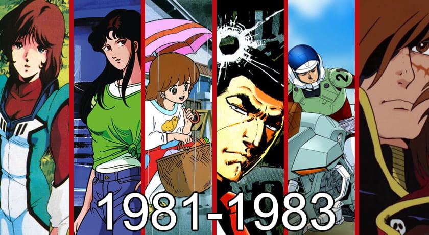 Anime warte zobaczenia 1981-1983 zestawienie