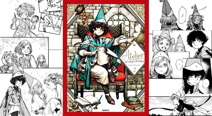 Atelier spiczastych kapeluszy #2 - recenzja mangi