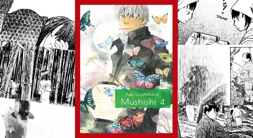 Mushishi #4 - recenzja mangi