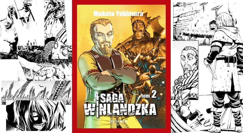 Saga Winlandzka #2 - recenzja mangi