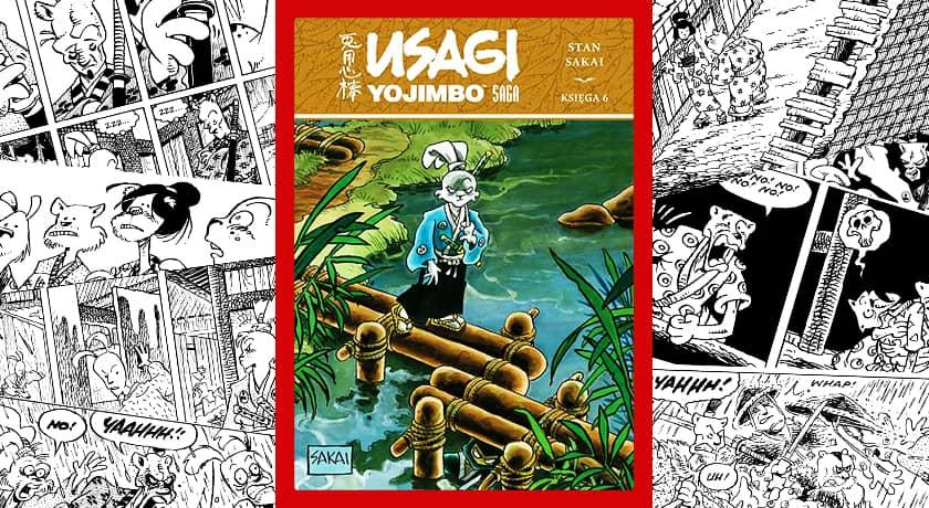 Usagi Yojimbo Saga Księga 6 - recenzja komiksu