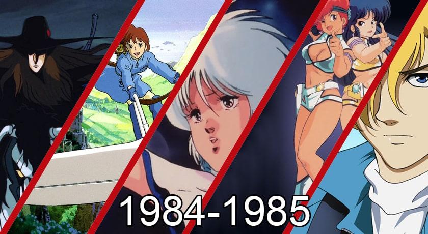 Anime warte zobaczenia 1984- 1985