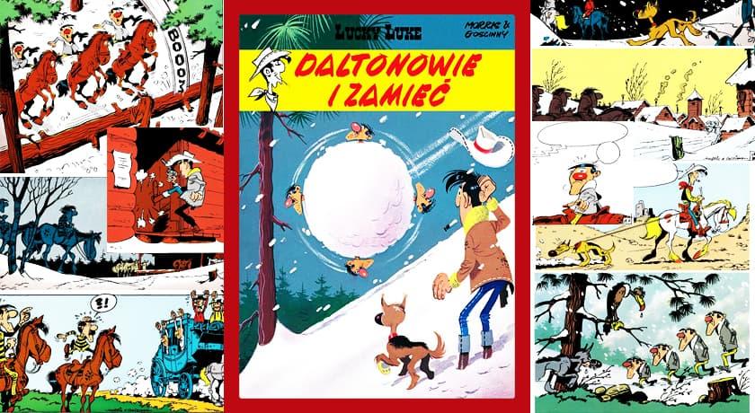 Lucky Luke Daltonowie i zamieć - recenzja komiksu