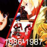 Anime warte zobaczenia 1986 - 1987 - grafika