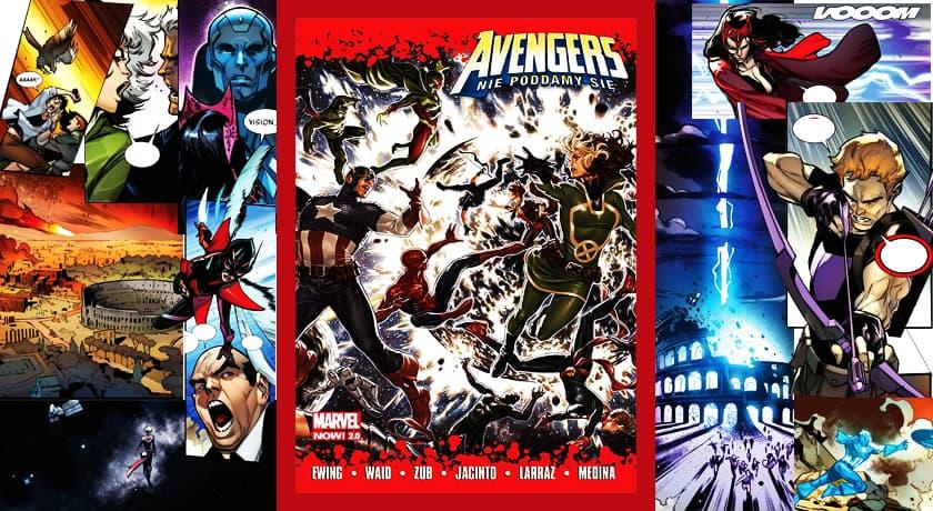 Avengers Nie poddamy się - recenzja komiksu