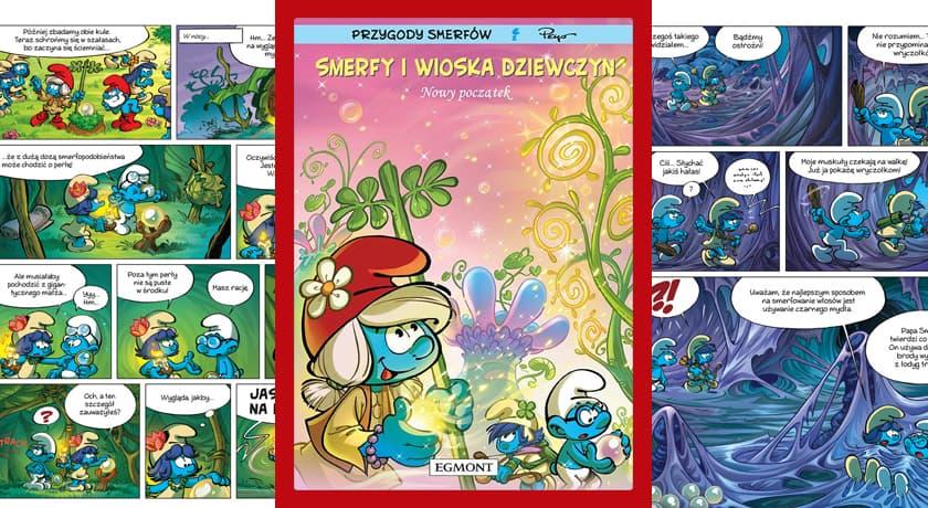 Smerfu i wioska dziewczyn Nowy początek - recenzja komiksu