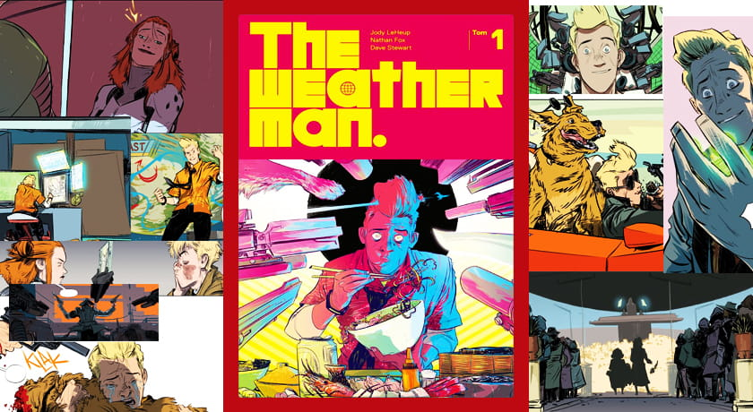 The Weatherman #1 - recenzja komiksu