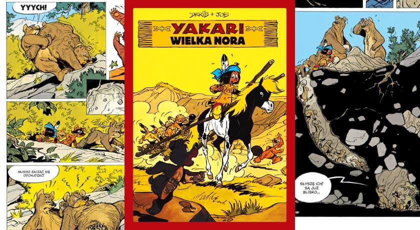 Yakari Wielka Nora - recenzja komiksu