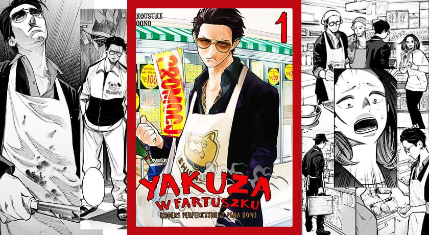 Yakuza w fartuszku #1 - recenzja mangi